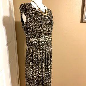 Cheetah Print Dorothy Perkins Casual Dress